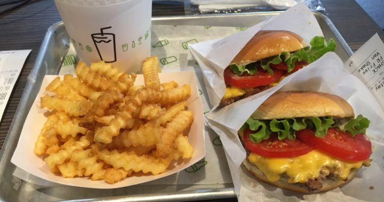 Shake Shack in Gangnam